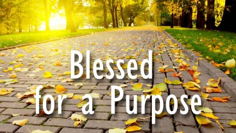 Blessed For a Purpose